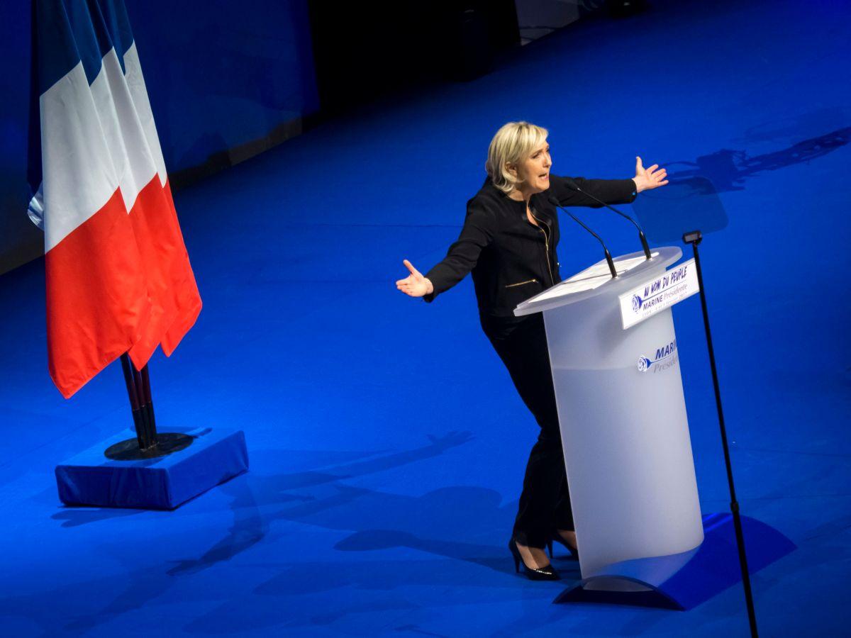 """La """"Trump"""" francesa que gana terreno en proceso electoral"""