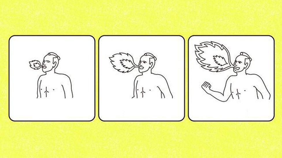 Los incomprensibles dibujos que inventaron en Japón para ayudar a los turistas a entender