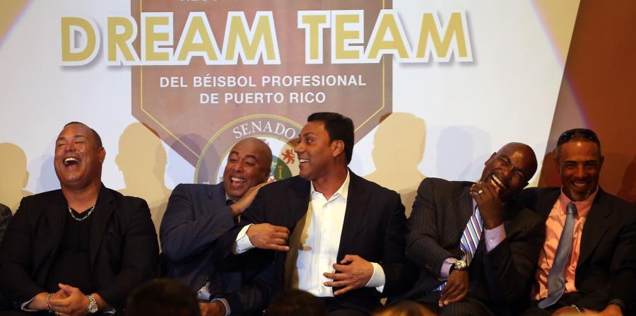El Dream Team boricua, veinte años después. Carlos Baerga, Bernie Williams, Juan González y Carlos Delgado entre otros./ARCHIVO EL NUEVO DIA