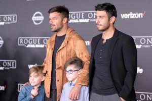 Ricky Martin: Instagram lo censura por una foto donde besa a su hijo en la mejilla