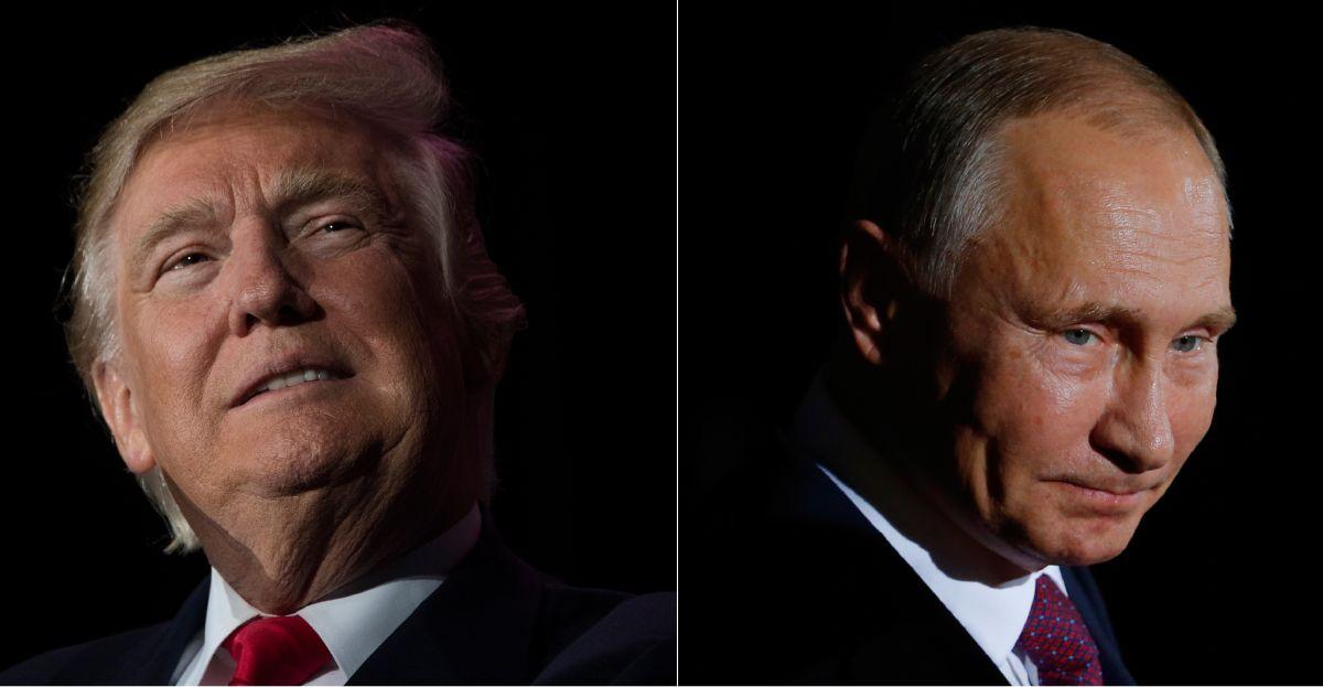 El presidente Donald Trump ha sido acusado de estar muy cerca al gobierno de Vladimir Putin.