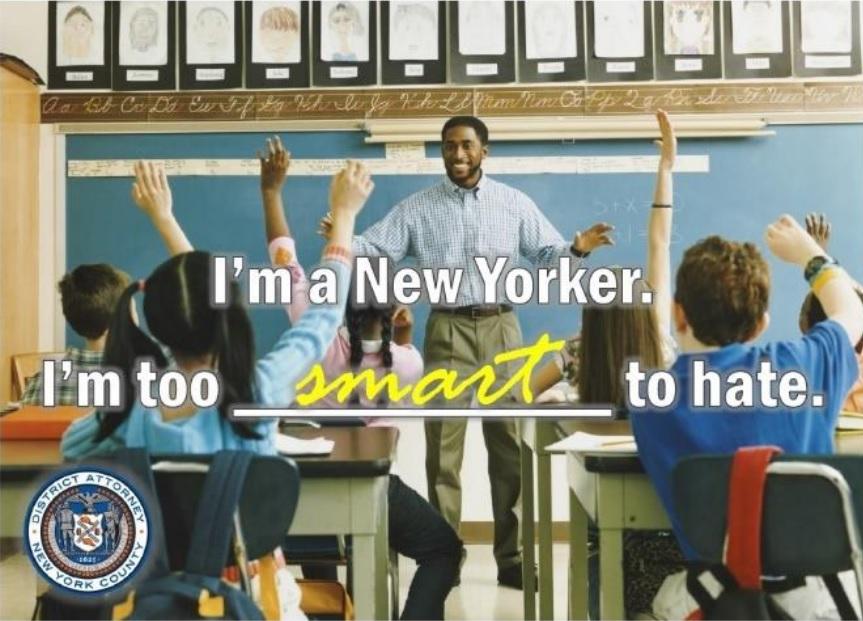 Campaña insta a neoyorquinos denunciar crímenes de odio