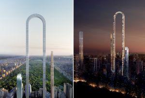 """El rascacielos """"montaña rusa"""" del que todos hablan en Nueva York"""