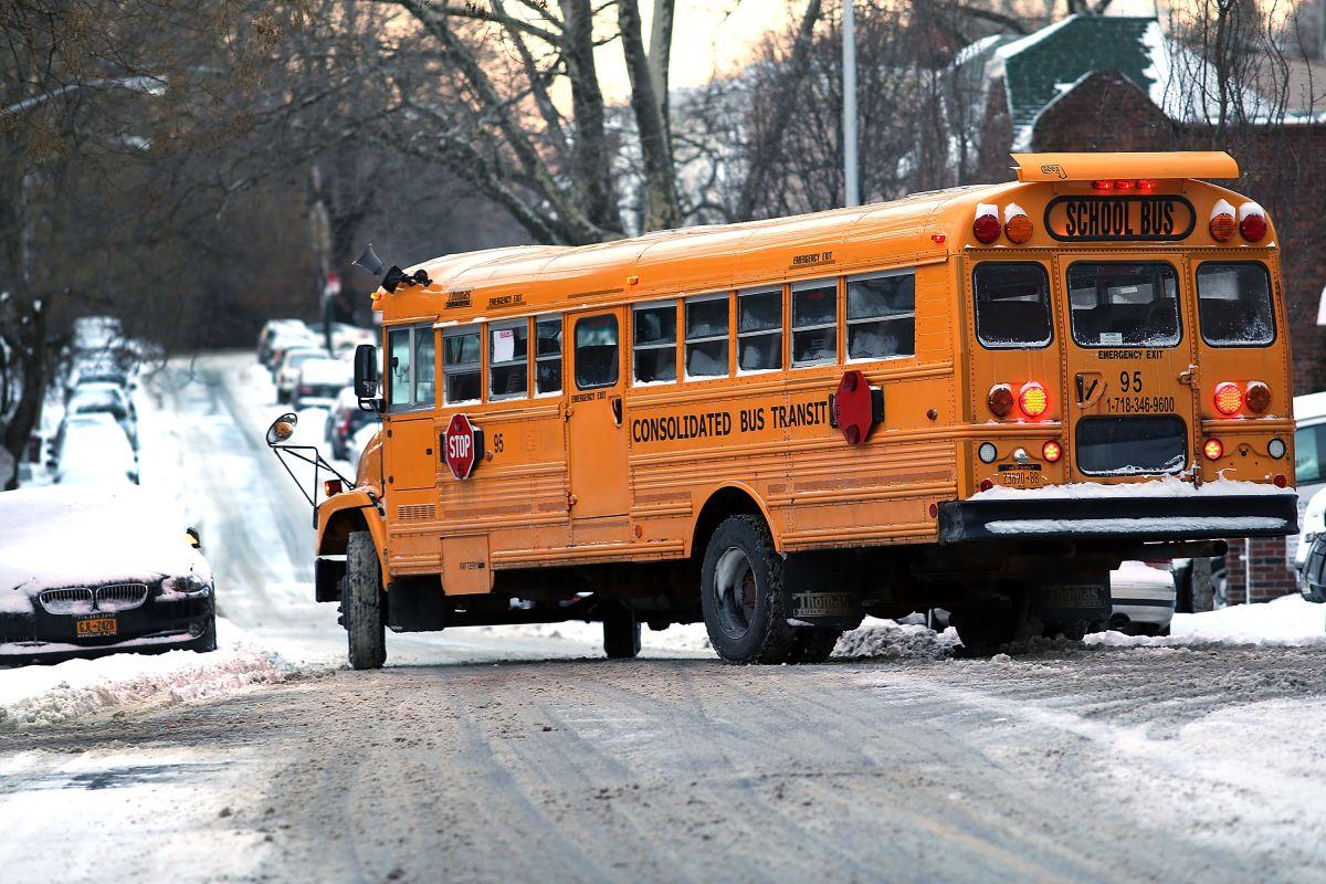Alcalde ordena cierre de escuelas públicas por nevada