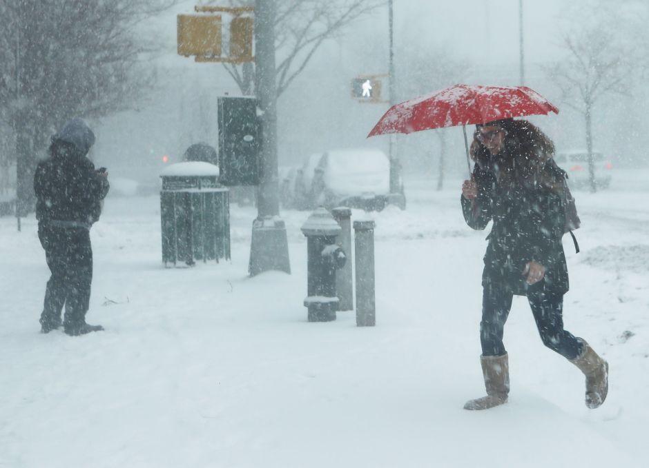 Tormenta de nieve con impacto en Nueva York, Nueva Jersey y al menos otros 20 estados