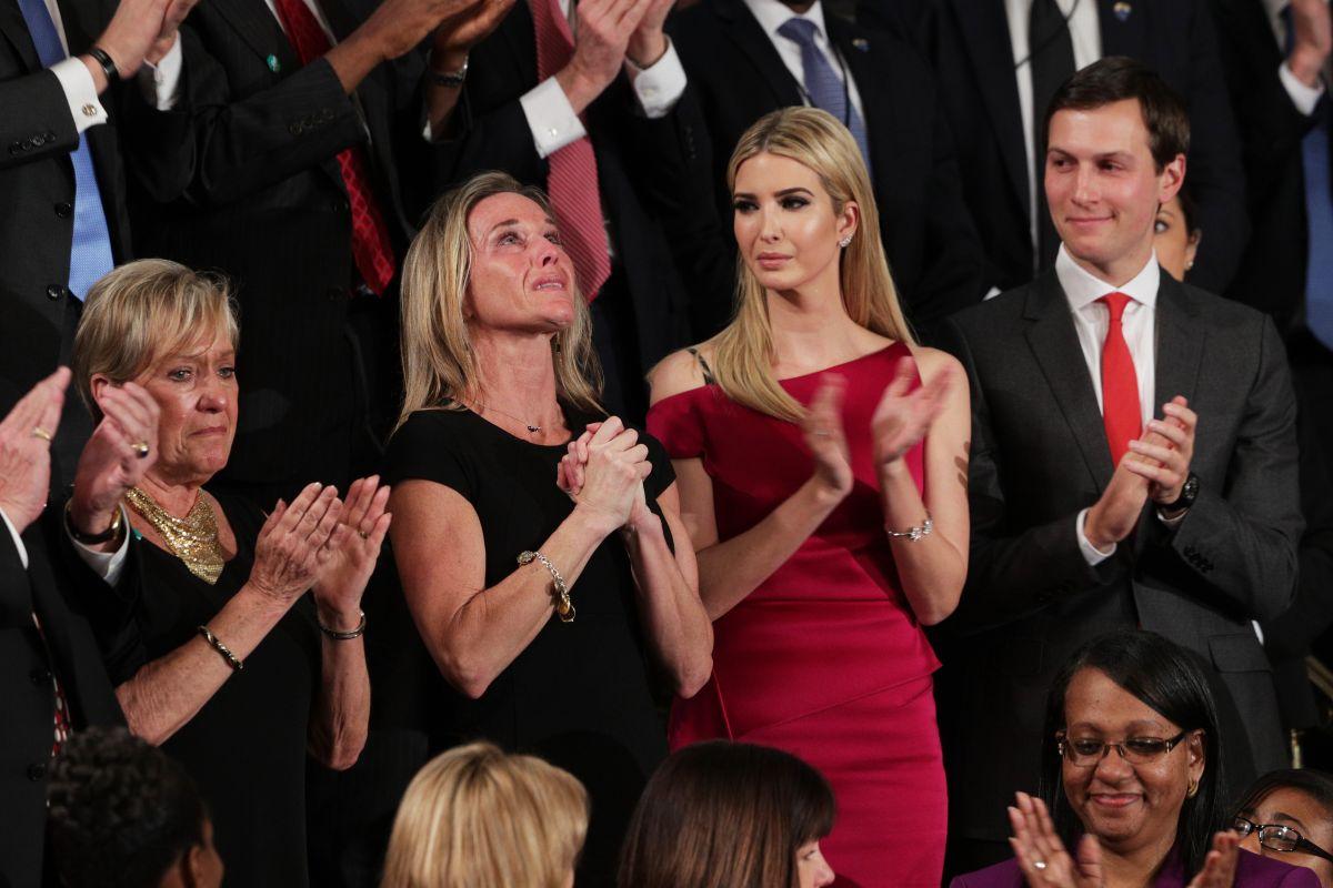 El momento más emotivo del discurso de Trump en el Congreso