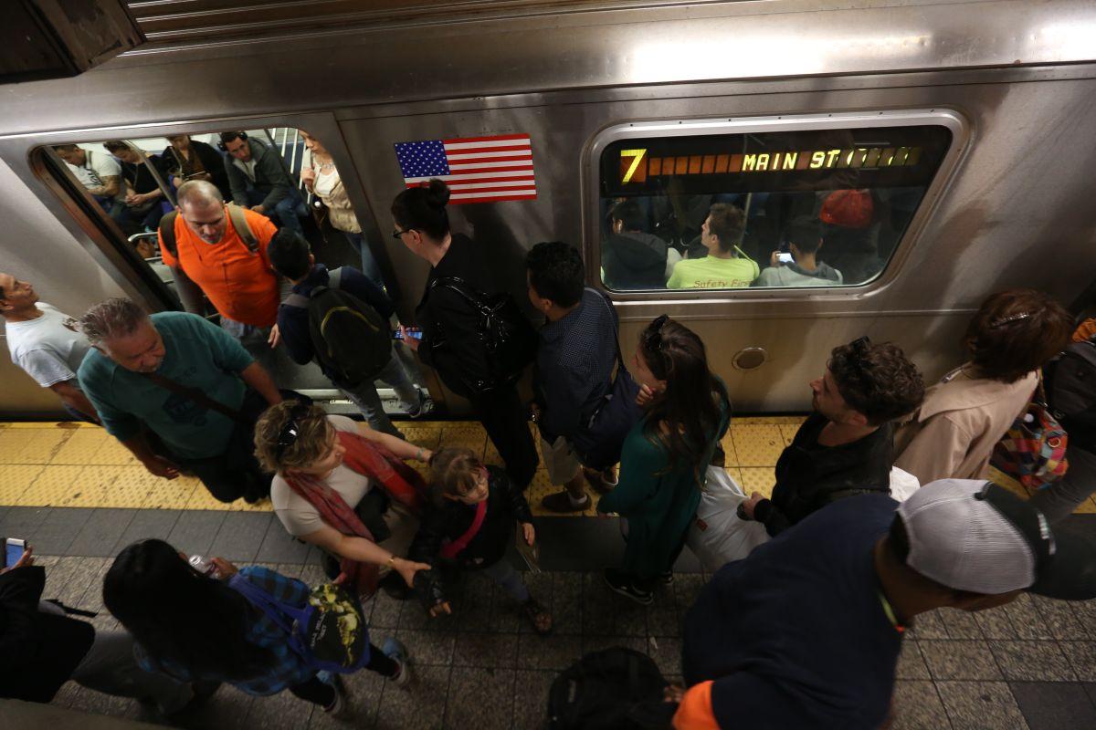 """""""En Nueva York ya no hay Subway pa' tanta gente"""""""