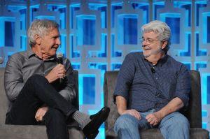George Lucas, Harrison Ford y más estrellas celebran 40 años de Star Wars con muchas sorpresas