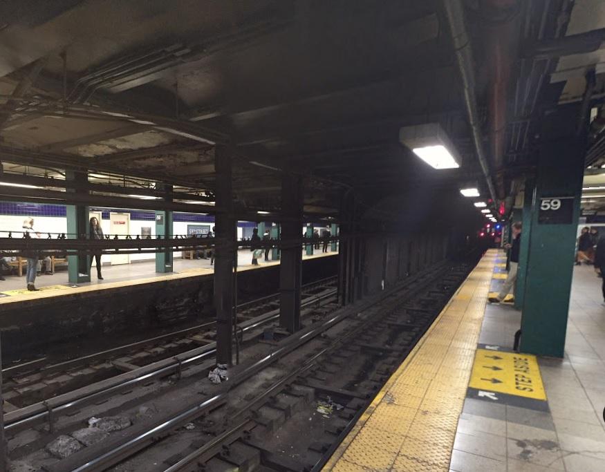 Escapa de la Policía y minutos después muere electrocutado en el Subway