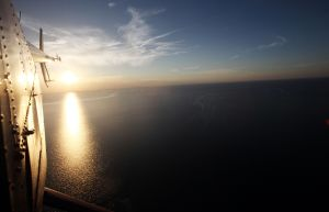Avistado OVNI gigante en el Golfo de México