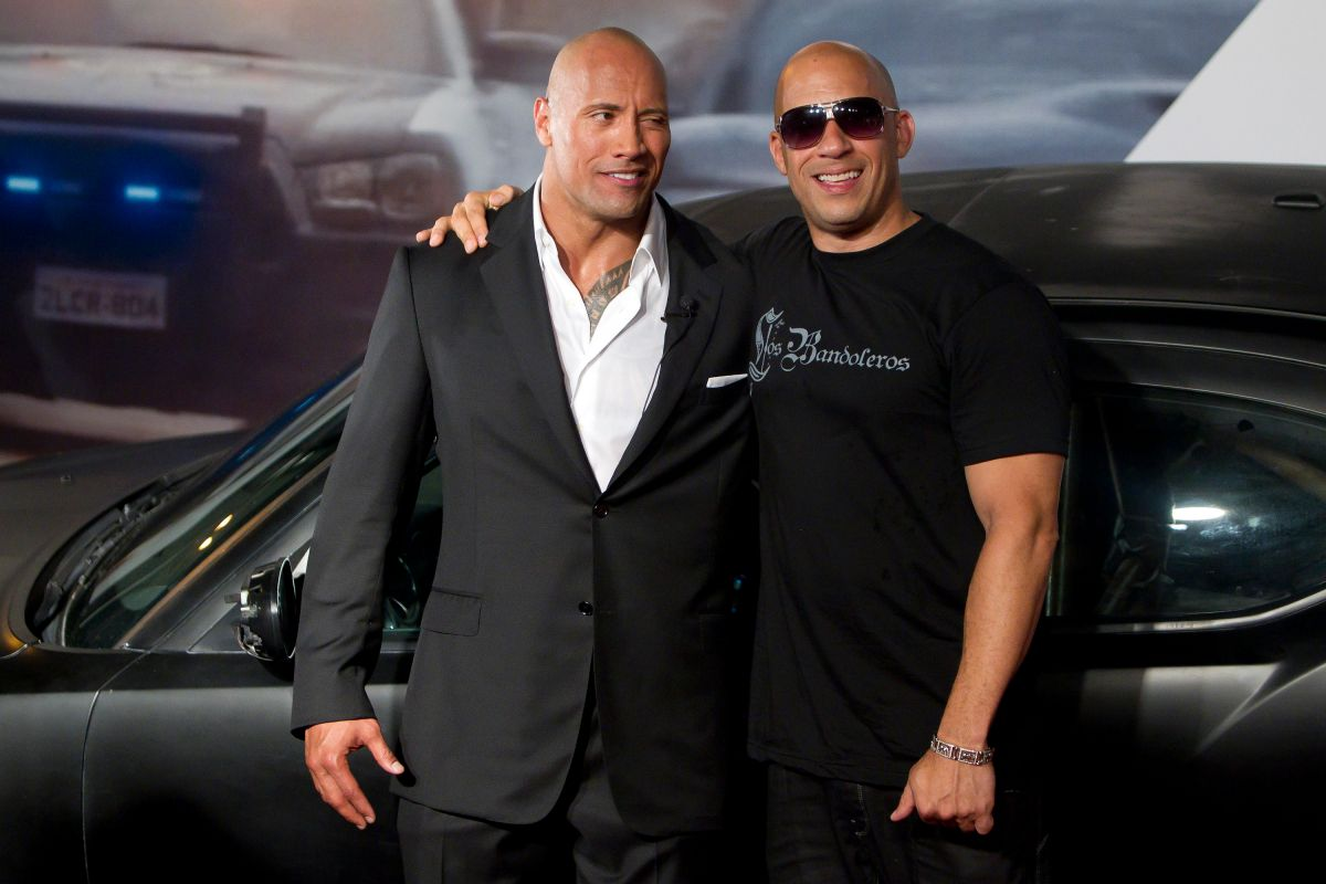 "La ""extraña"" relación entre Dwayne ""The Rock"" Johnson y Vin Diesel por culpa de 'Fast and Furious'"