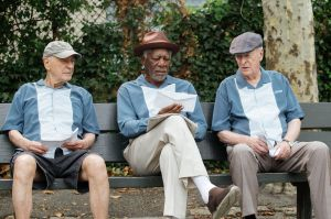 Going In Style: Michael Caine, Morgan Freeman y Alan Arkin dan el golpe