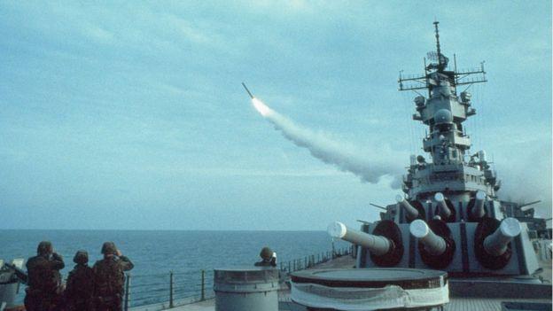 Estados Unidos usó por primera vez los Tomahawk durante la operación Tormenta del Desierto, en 1991.