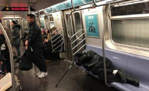 """Primavera da """"respiro"""" a usuarios del tren E con menos 'homeless'"""