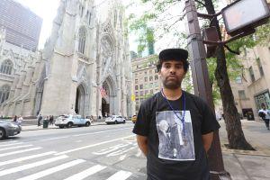 Con huelga de hambre pide hacer de Catedral de San Patricio un 'santuario'