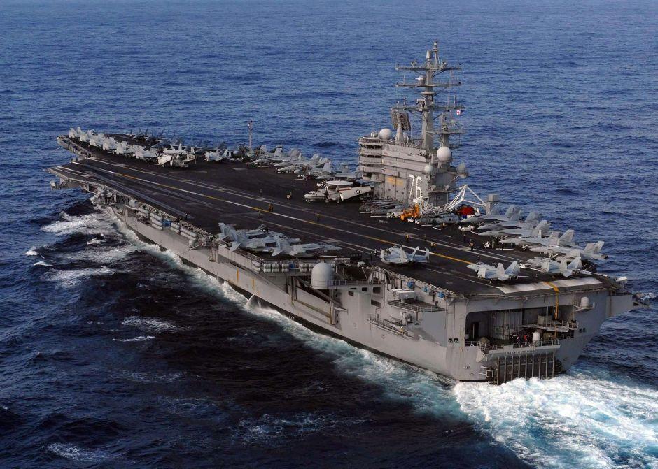 EEUU envía otro portaaviones nuclear cerca de la península de Corea