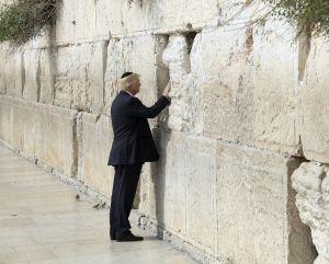 Trump es el primer presidente de EEUU que visita el Muro de las Lamentaciones