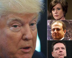 Los 3 funcionarios que desafiaron a Trump y fueron despedidos
