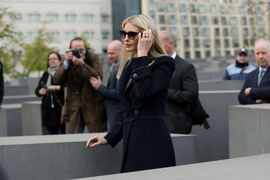 Ivanka fue advertida por asuntos de ética en la Casa Blanca
