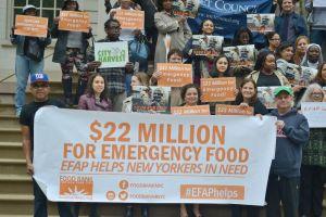 Advierten que se agudizará la crisis de hambre en NYC
