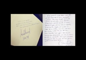 La foto que muestra una gran diferencia entre Donald Trump y Barack Obama