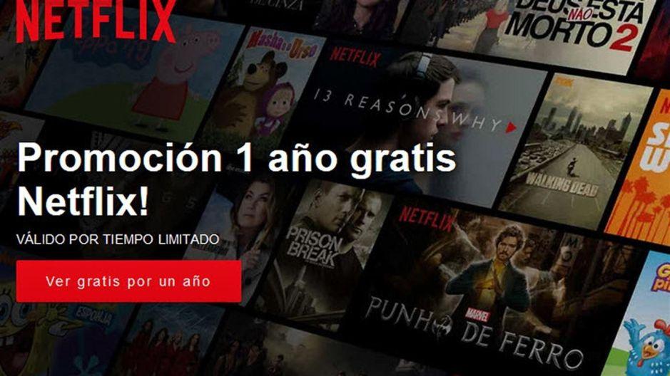 Un año gratis de Netflix, la nueva estafa por WhatsApp