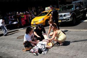 Fotos: Alcalde confirma que suceso en Times Square no fue un acto terrorista