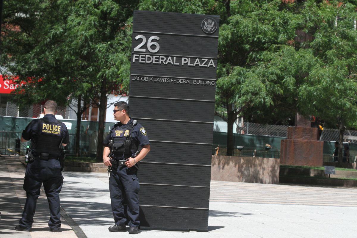 El 26 Federal Plaza es donde se encuentran las oficinas de ICE.),