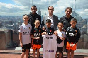 El Valencia CF inaugura academia de jóvenes en Nueva York