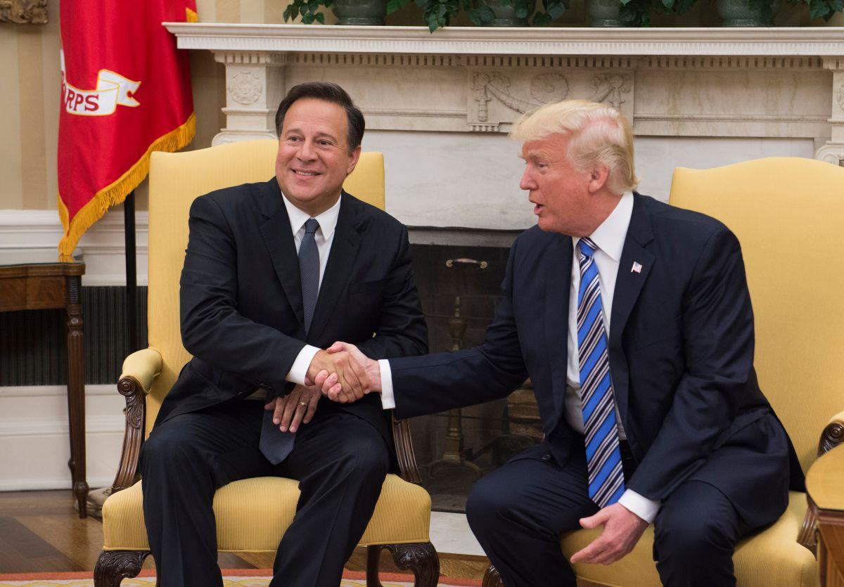 Trump desata burlas por comentario durante visita del presidente de Panamá