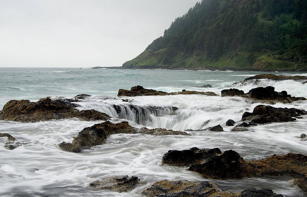 En Oregon está el hoyo más lindo pero quizá más peligroso