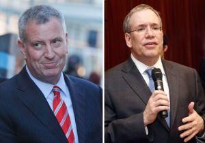 De Blasio y Stringer cambian de estrategia antes de las elecciones