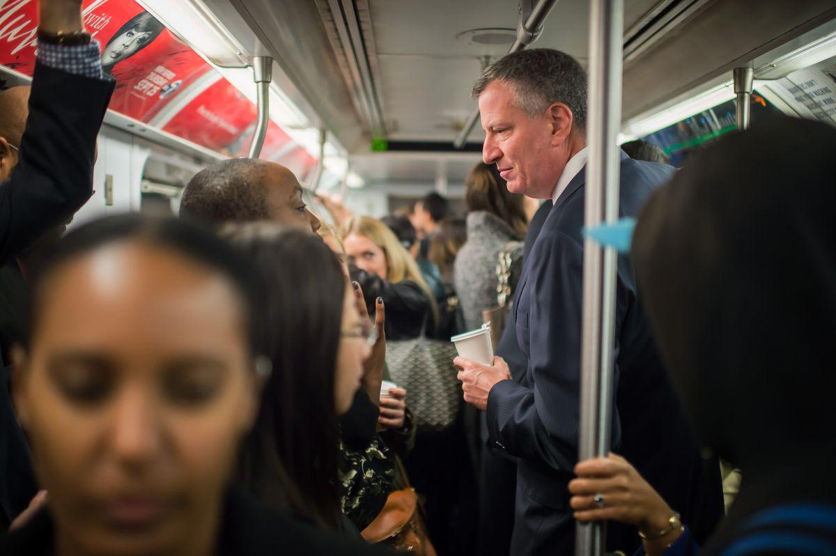 Las cinco cosas que Bill de Blasio quiere cambiar en la MTA