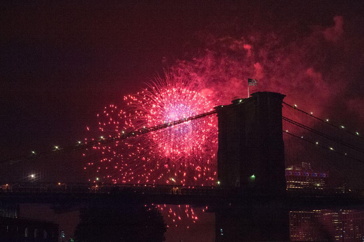 """Tradición de fuegos artificiales Macy's del 4 de julio será """"secreta"""" y muy diferente este año en Nueva York"""