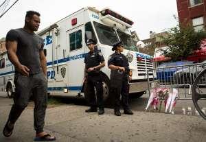 Joven se defendió a mordiscos de ladrón de celular a plena luz en Nueva York