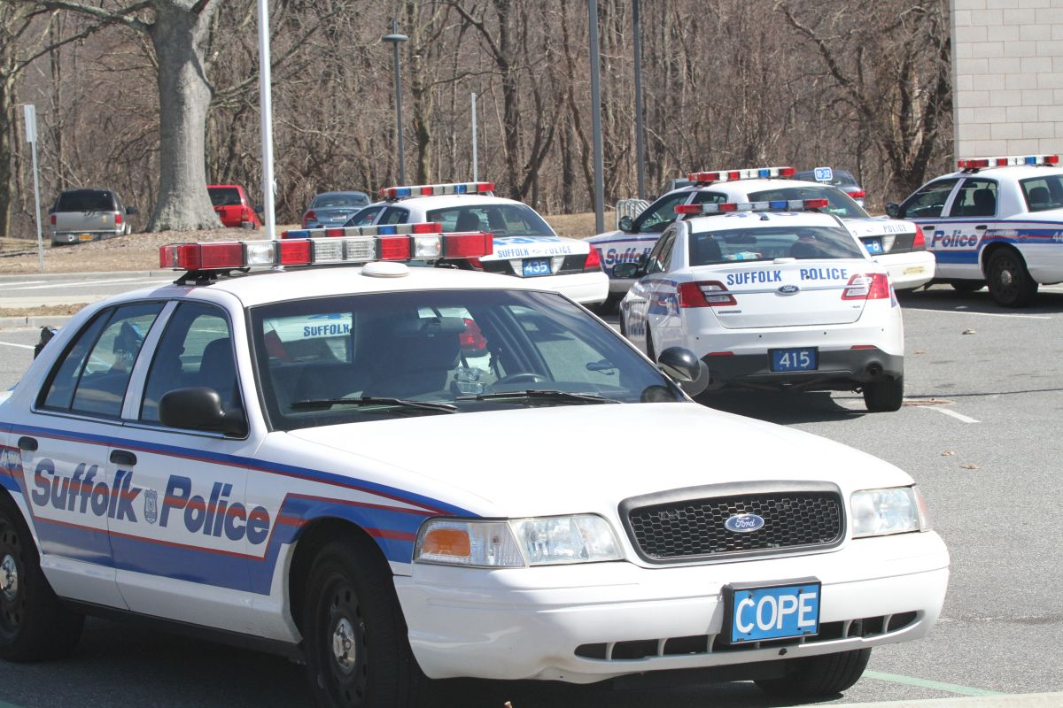 Policía del condado Suffolk, Long Island, NY.