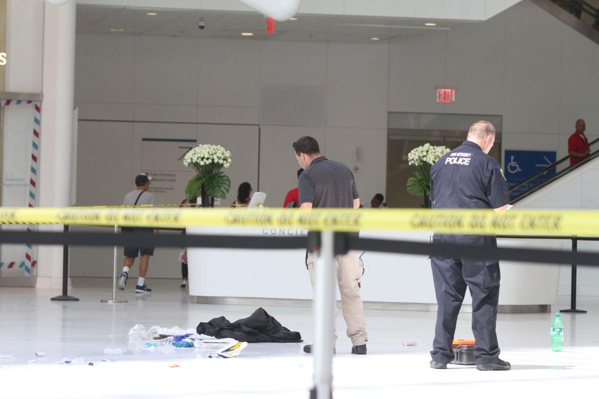 Herido grave tras caer de balcón en la estación del WTC