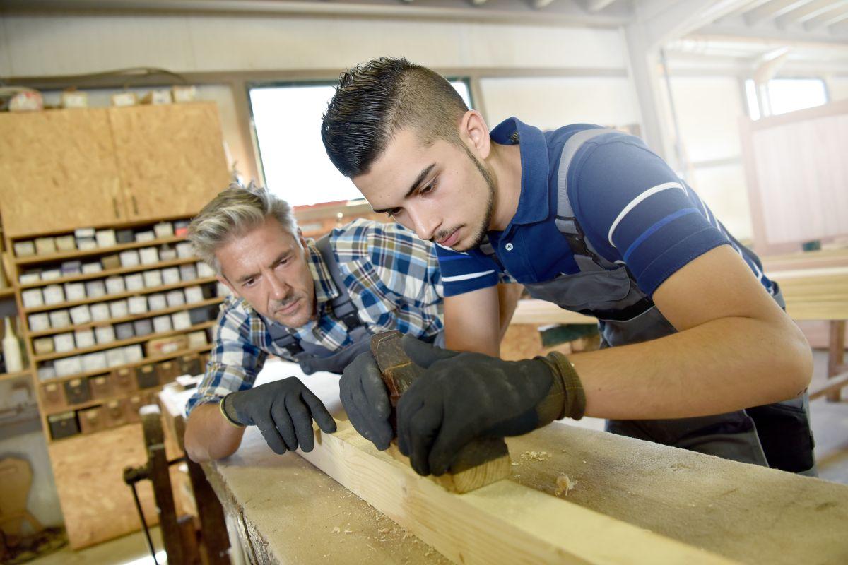 Los programas de aprendizajes son muy usados en Europa./Shutterstock