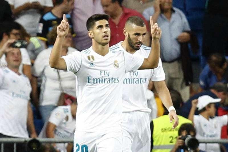 El doblete y la gran actuación de Asensio ante el Valencia pone en un predicamento a Zidane. EFE