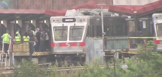 Al menos 40 heridos en un accidente de trenes en Philadelphia