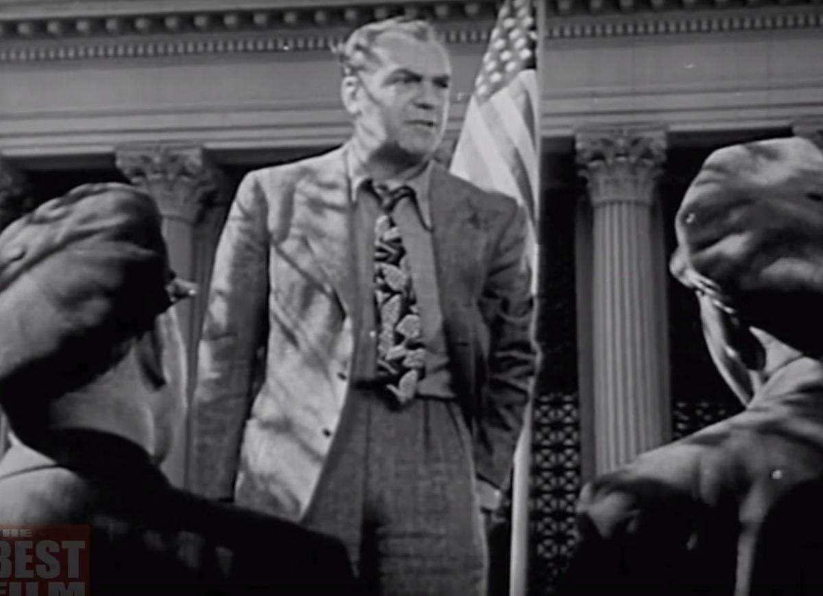 """""""No seas un bocón"""" es una película de los años cuarenta."""