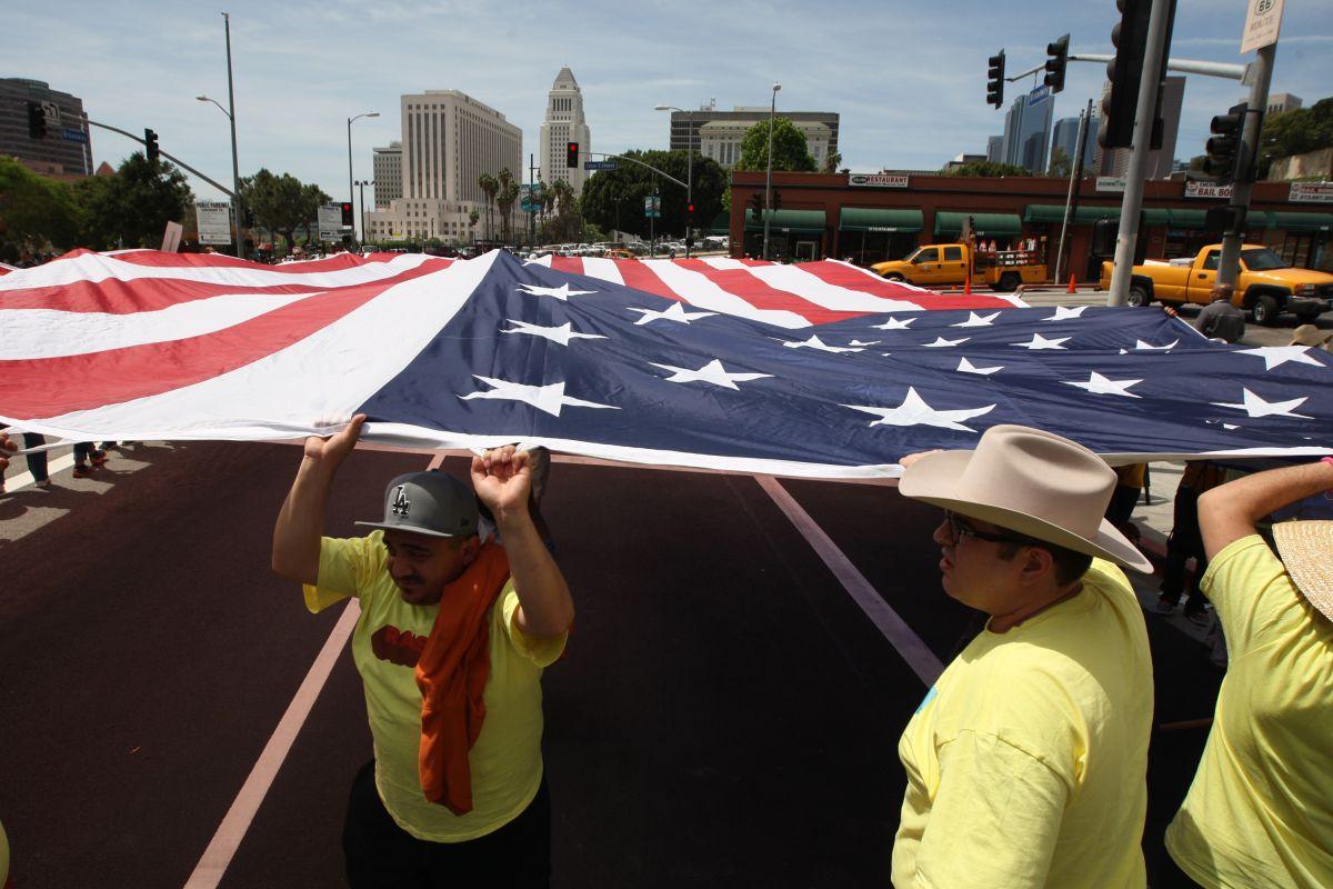 Los hispanos se han manifestado en contra de las políticas migratorias del presidente Trump.