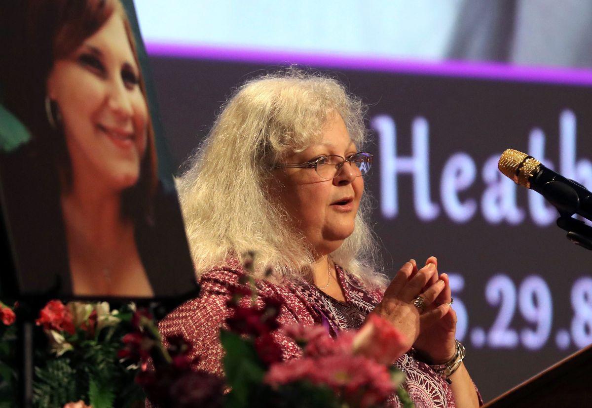 Susan Bro dijo que le gustaría que la muerte de su hija fuera usado contra discursos de odio racial.