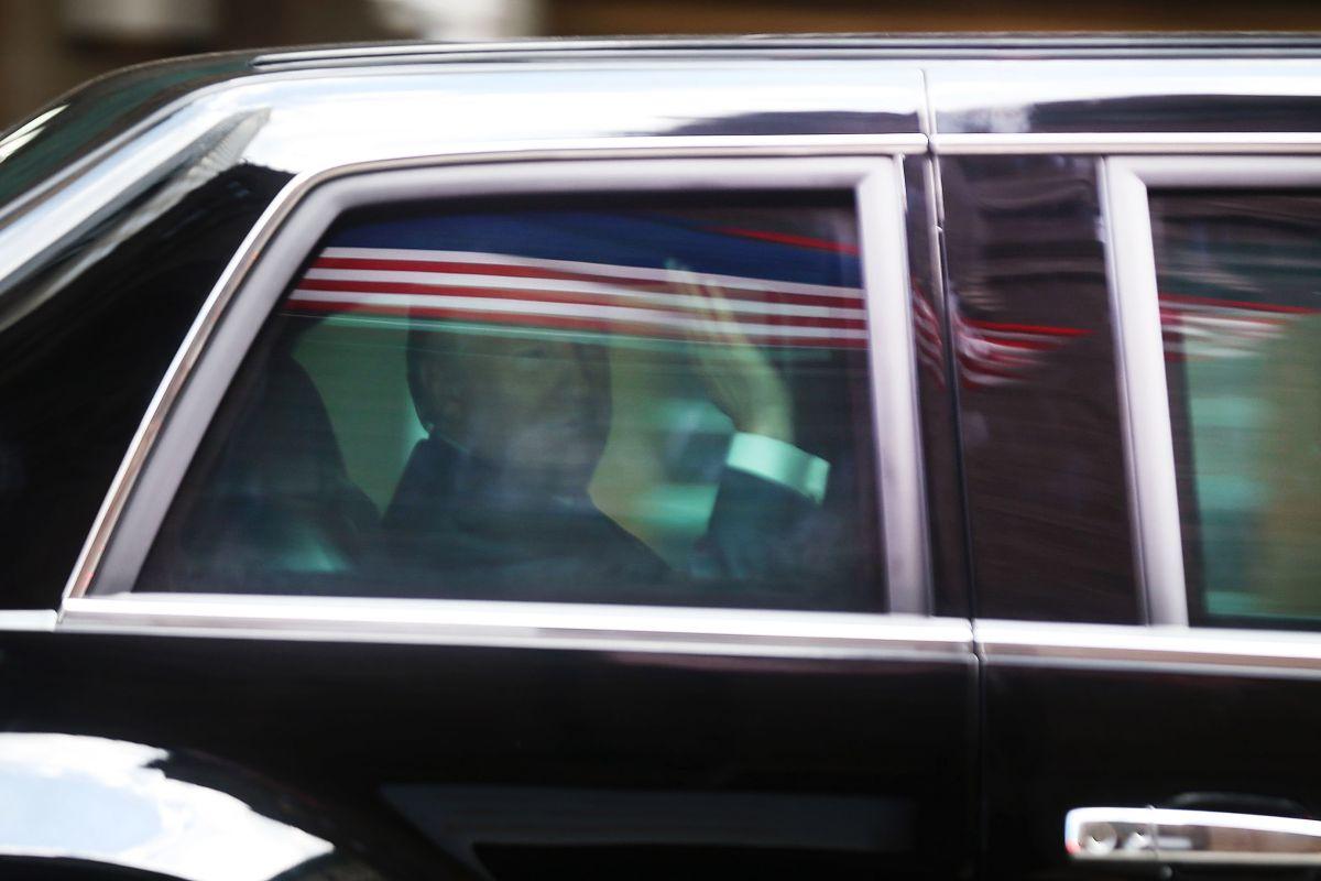 El presidente Trump continúa en Nueva York.