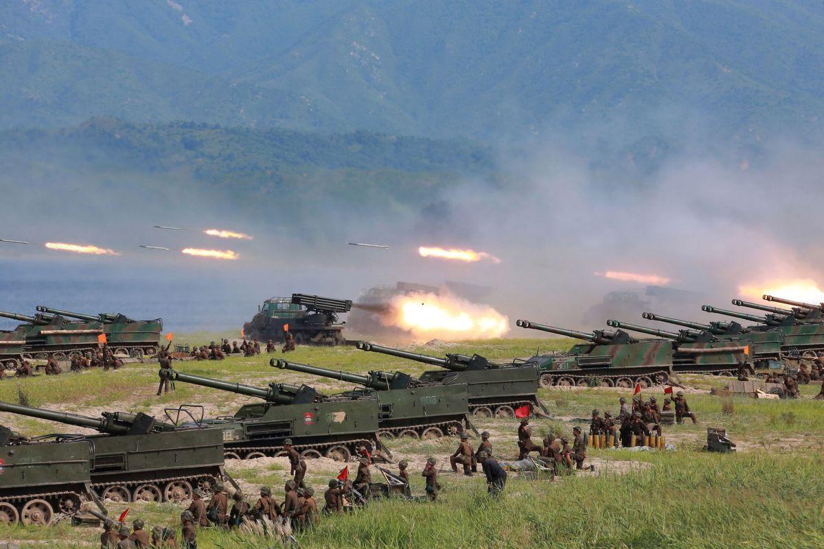 Corea del Norte lanzó una nueva amenaza a EEUU.