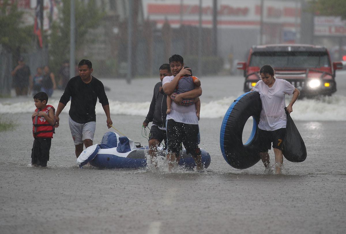 Houston es una de las zonas más afectadas por inundaciones.