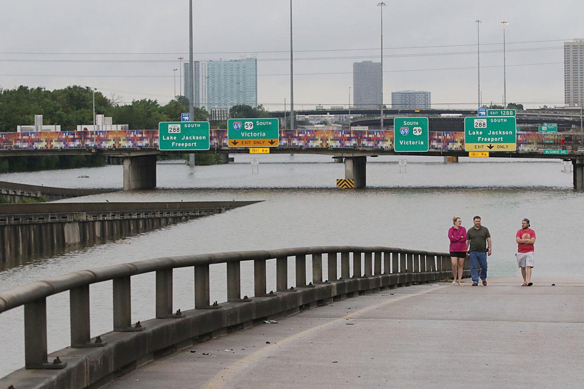Houston es una de las zonas más afectadas por Harvey.