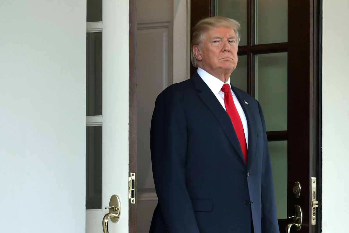 La mayoría tiene una opinión negativa del presidente Trump.