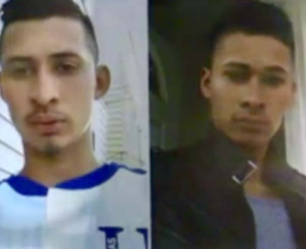 Joséy Francisco Castillo-Granados (izquierda), de 25 y 22 años, respectivamente, fueron baleados fatalmente.
