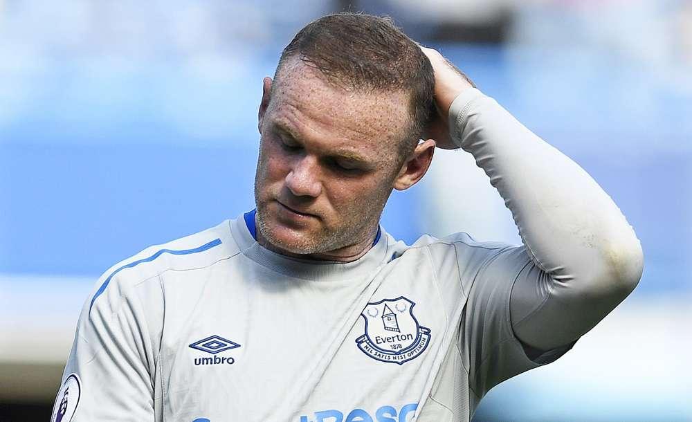 Wayner Rooney fue detenido por manejar bajos los efectos del alcohol. EFE